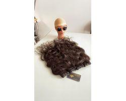 wavy hair tissue - v