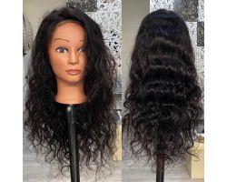 Parrucca ondulata colore vergine
