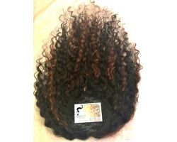 Toupet Colored natural curly