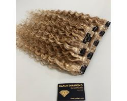 Natural Curly Colored Hair Clips