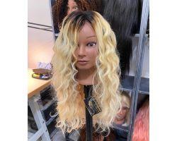 Wig con shatush